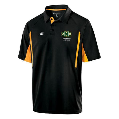 Snc Avenger Polo - Adult Small / Black/gold - St. Norbert College