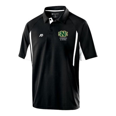 Snc Avenger Polo - Adult Small / Black/white - St. Norbert College