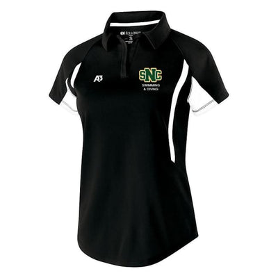 Snc Avenger Polo - Ladies X-Small / Black/white - St. Norbert College