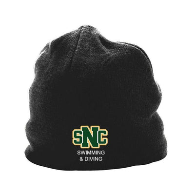 Snc Knit Beanie - Black - St. Norbert College