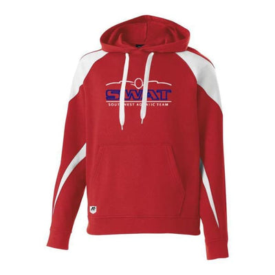 SWAT Prospect Hoodie - Youth Small / Red/White - Southwest Aquatic Team