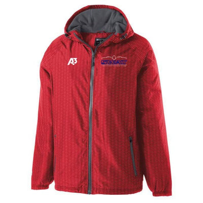 SWAT Range Jacket - Adult Small / Scarlet - Southwest Aquatic Team