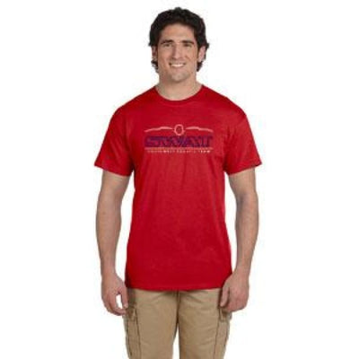 Swat T-Shirt - Red / Adult Small - Southwest Aquatic Team