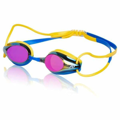 Swimming Swan A3 Performance Avenger X Goggle - Smoke/Yellow/Blue 924 - Team Store