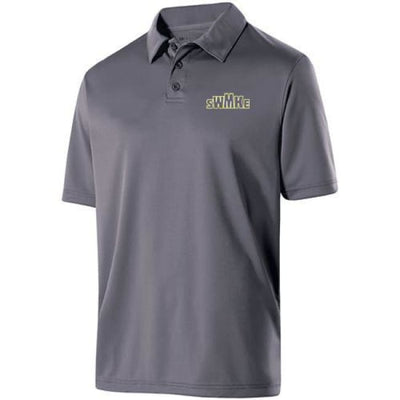 Swmke Polo - Graphite - 059 / Ladies Medium - Swmke