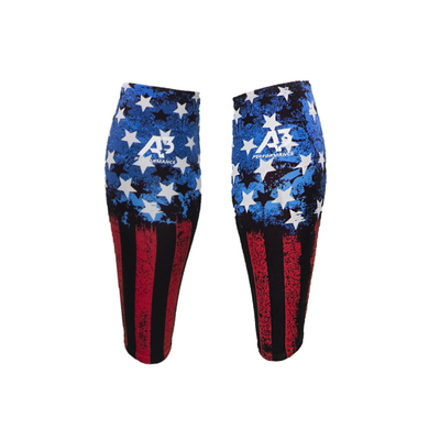 Team BODIMAX Calf Sleeves - Stars and Stripes 404 / Small - Team Store