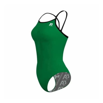 Team Contrast Female Xback - Green/black 801 / 18 - Team Store