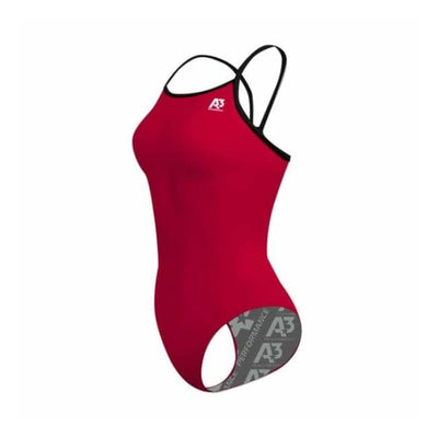 Team Contrast Female Xback - Red/black 401 / 18 - Team Store