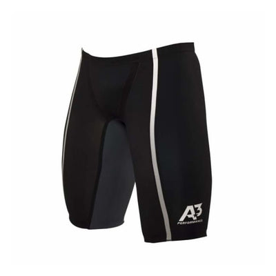 Team Vici Male Jammer Technical Racing Swimsuit - Black/silver 100 / 20 - Team Store