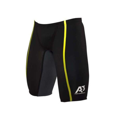 Team Vici Male Jammer Technical Racing Swimsuit - Black/yellow 109 / 22 - Team Store