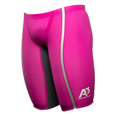 Team Vici Male Jammer Technical Racing Swimsuit - Pink/silver 450 / 20 - Team Store