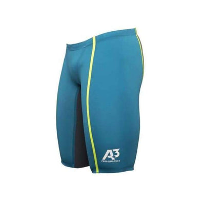 Team Vici Male Jammer Technical Racing Swimsuit - Teal/yellow 859 / 20 - Team Store
