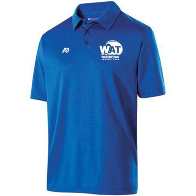Wat Shift Polo - Royal / Adult Small - Watertown Aquatic Team