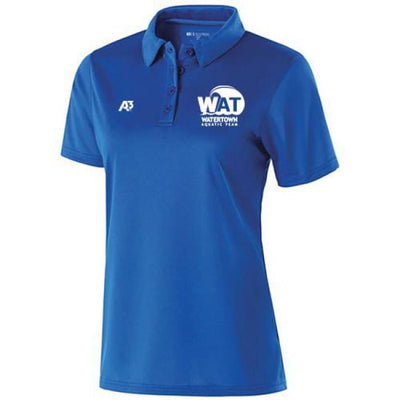 Wat Shift Polo - Royal / Ladies X-Small - Watertown Aquatic Team