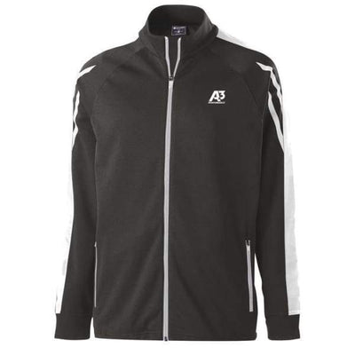 Flux Jacket - BLACK HEATHER/WHITE/WHITE 879 / Small - Team Apparel