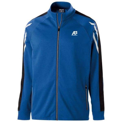Flux Jacket - ROYAL HEATHER/BLACK/WHITE 872 / Small - Team Apparel
