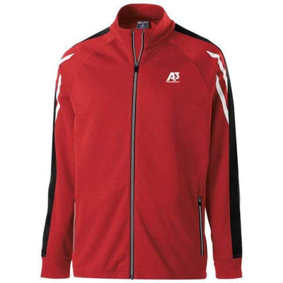 Flux Jacket - SCARLET HEATHER/BLACK/WHITE 876 / Small - Team Apparel