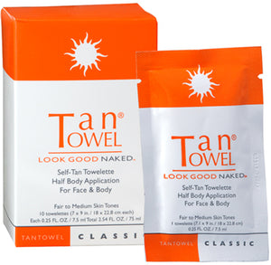 Tantowel Self Tan Towelettes Classic