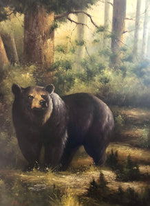 'Blowing Rock Bear""