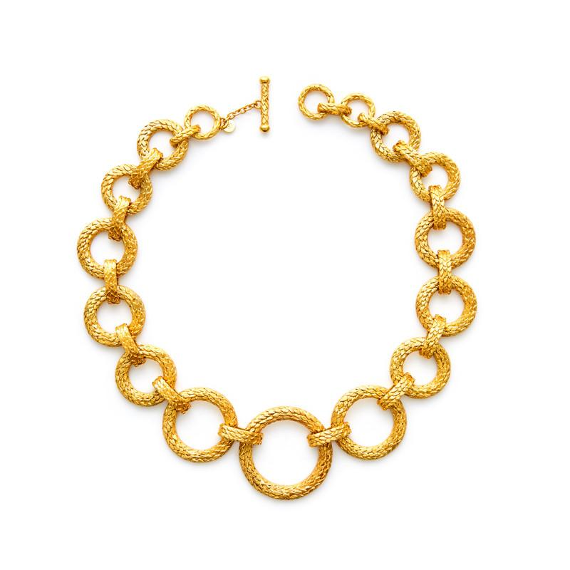 Paradise Grande Link Necklace Gold