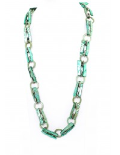 AD-NWB72- Long Emerald Necklace