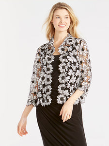 NZ - S201506 Cosmos Lace Jacket
