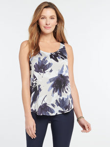 NZ - S201618 Inky Flowers Tank