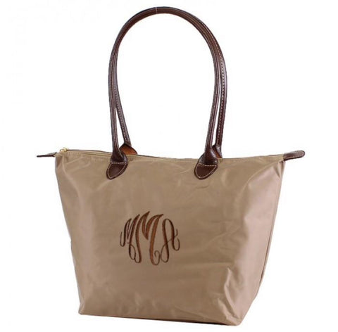"16"" Nylon Fabric Tote Bag"