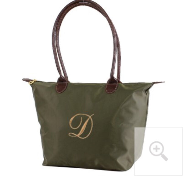 "16"" Nylon Fabric Monogram Bag"