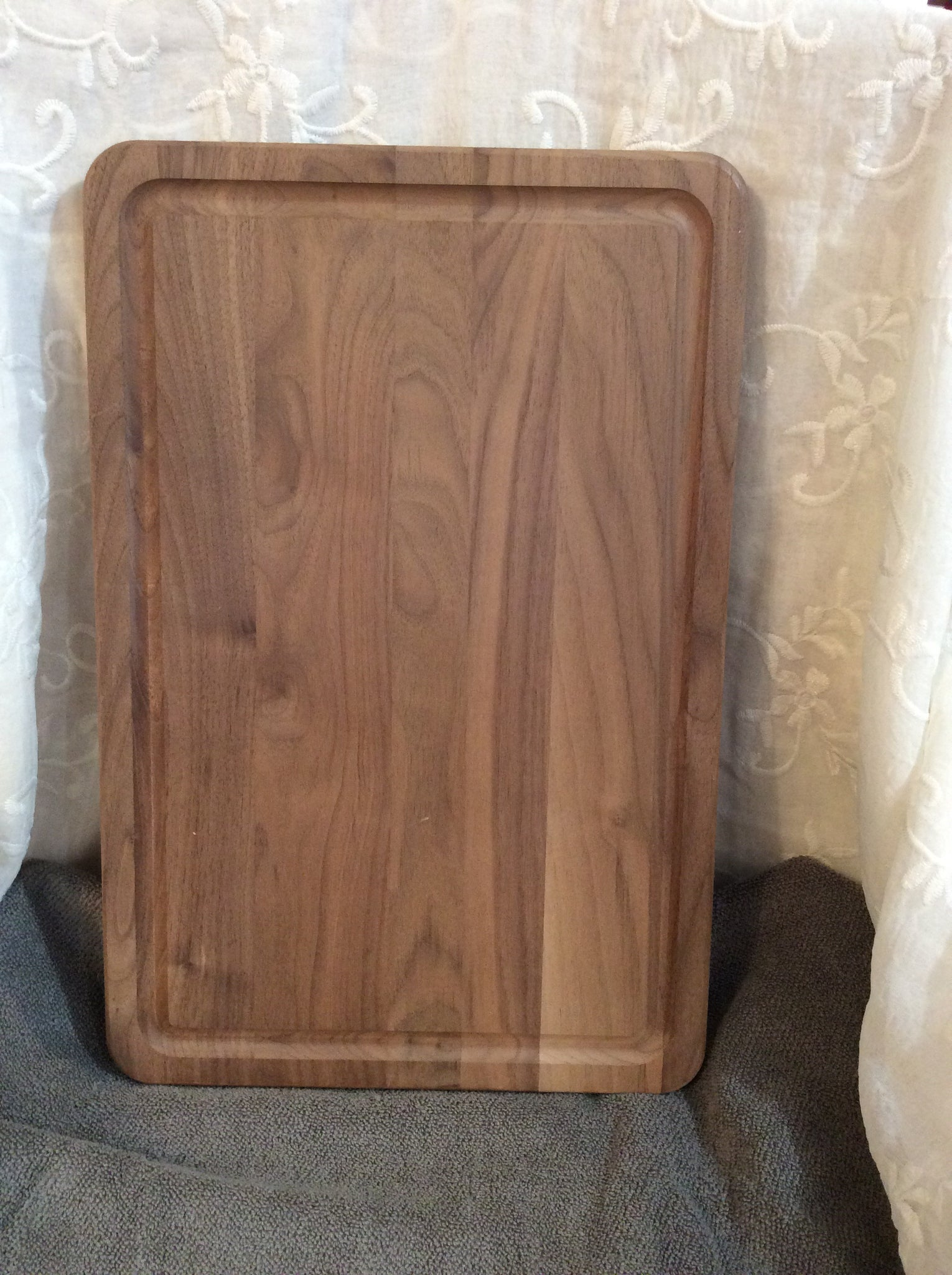 Large Cutting Board with Indents