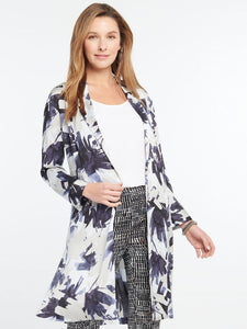 NZ - S201516 Inky Flowers Jacket BLT