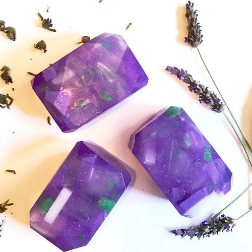 Lavender Apple Fairy Crystal Soap
