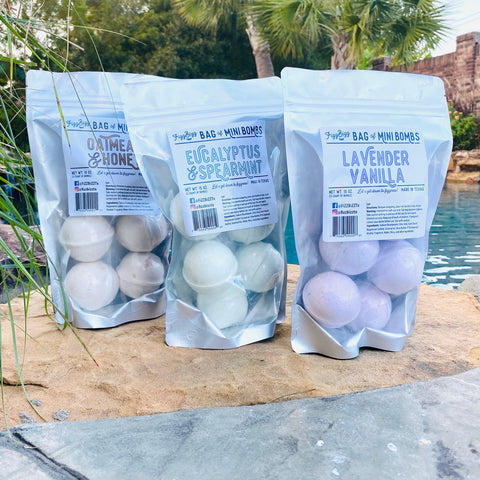 Mini Bath Bomb Bundles