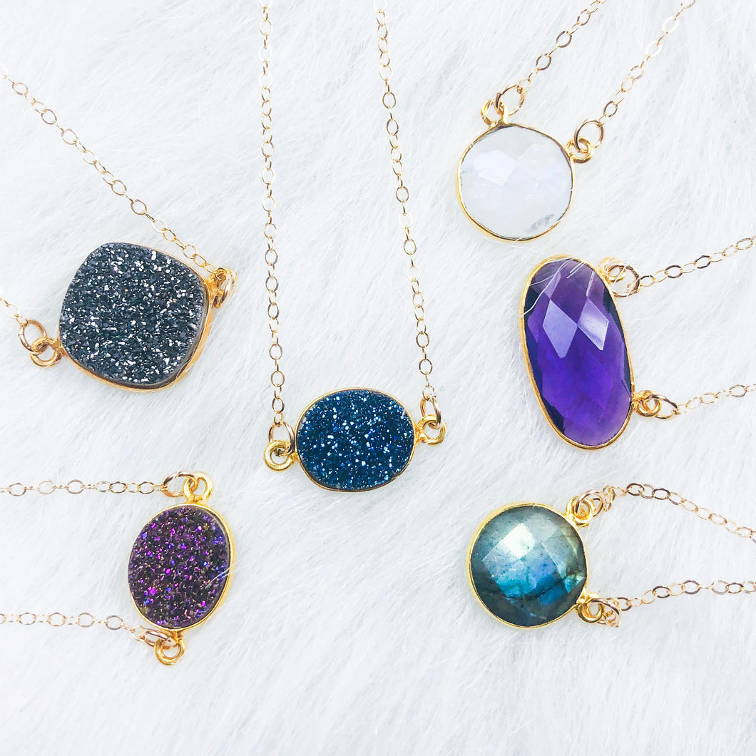 Druzy & Gem Necklaces