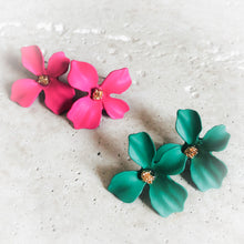 Flower Petal Earrings