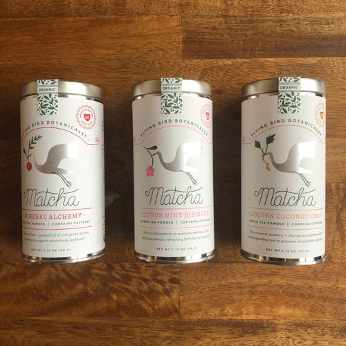 Flying Bird Botanicals Matcha Tea