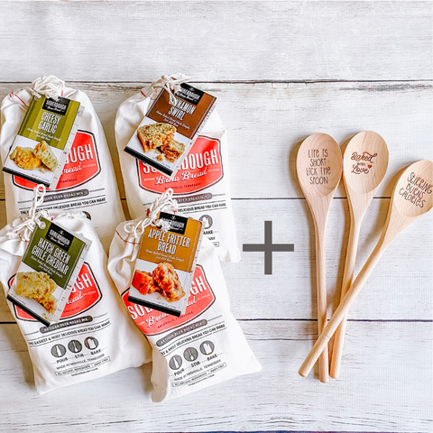 NEW! Bread Kit & Wooden Spoon Set