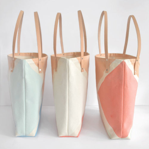 The SanDestin Leather Tote