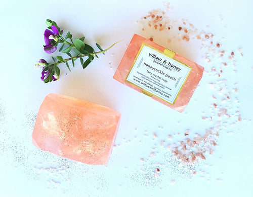 Honeysuckle Fairy Crystal Soap