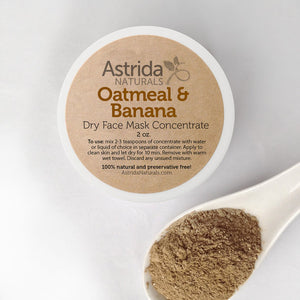 Soothing Oatmeal & Banana Mask Clay Face Mask
