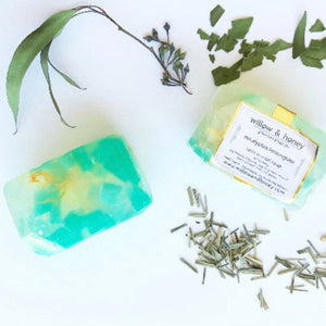 Eucalyptus Lemongrass Fairy Crystal Soap