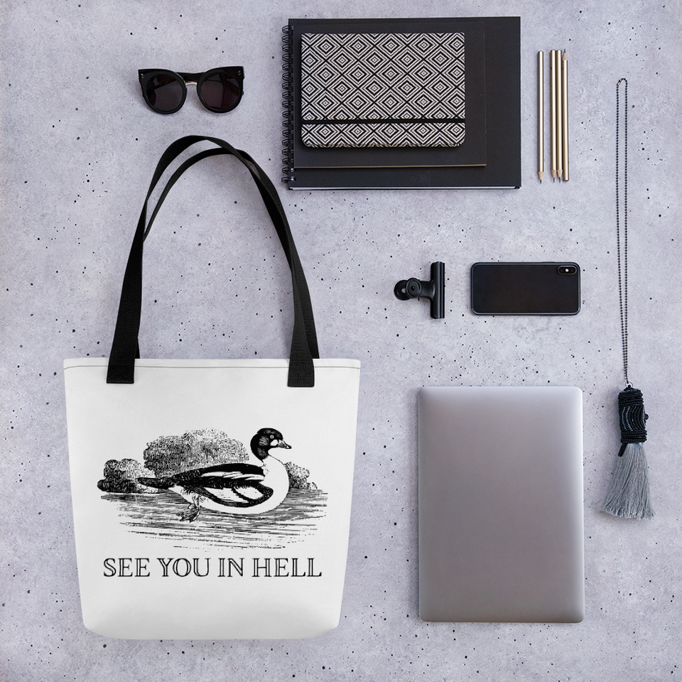 See You In Hell Tote