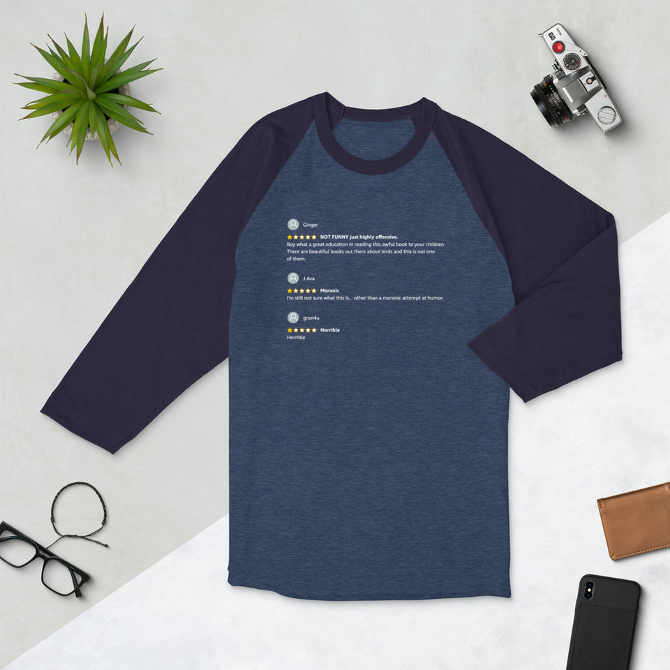 Satisfied Readers Baseball Tee