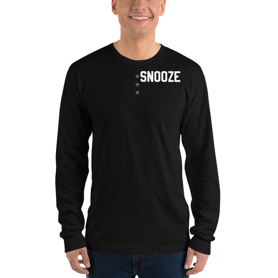 Henchman SNOOZE's long sleeve t-shirt