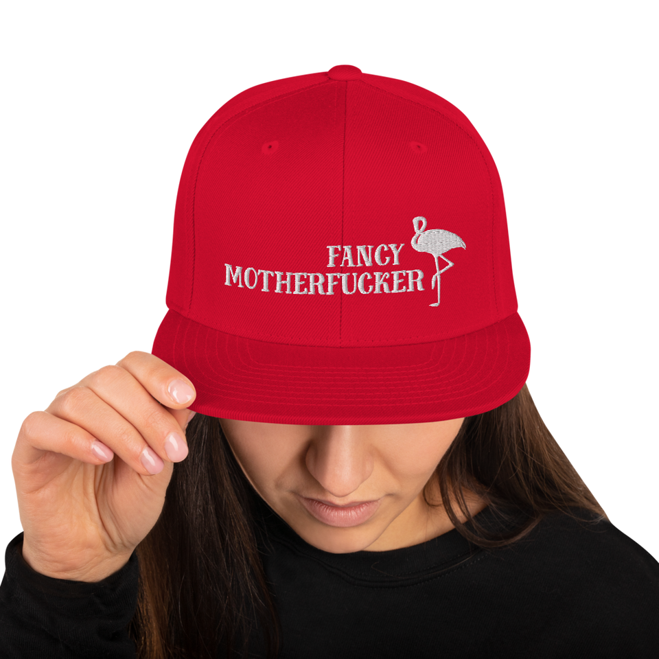 Fancy Motherfucker Snapback Cap