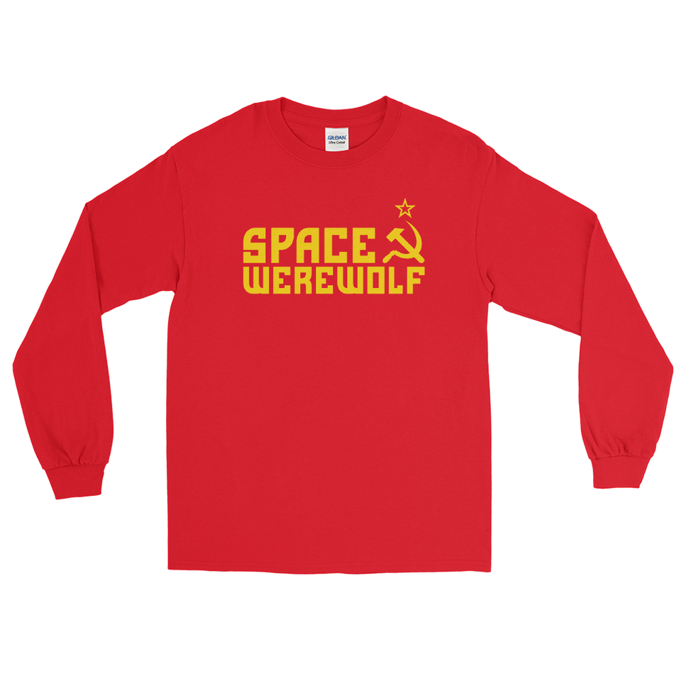 Space Werewolf Long Sleeve Shirt