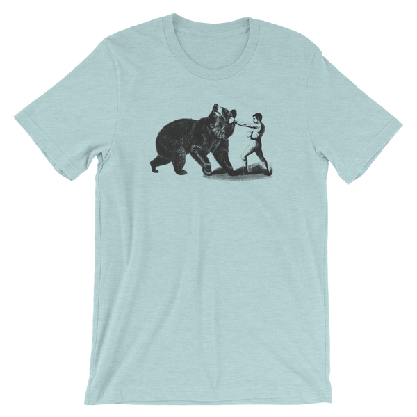 Bear Fight Short-Sleeve Unisex T-Shirt