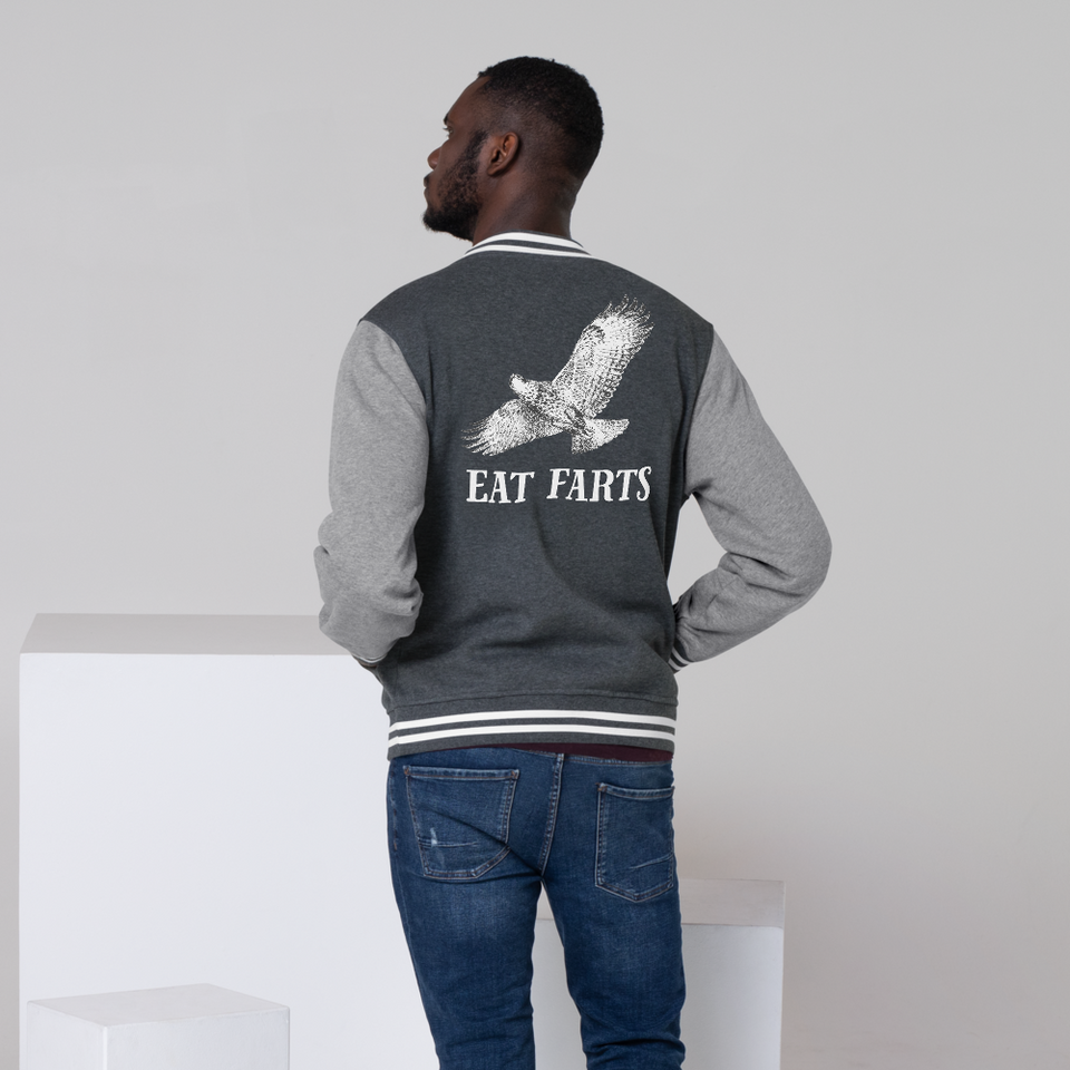 Eat Farts Men's Letterman Jacket