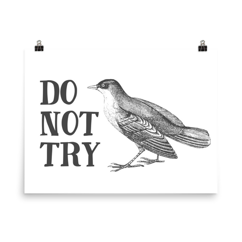 Do Not Try