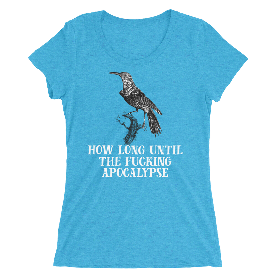 How Long Until The Fucking Apocalypse Women's T-Shirt